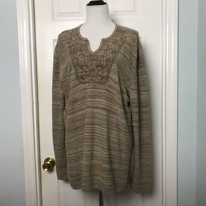 Express Pullover Sweater. Size XL
